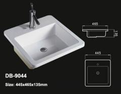 Drop In Vanity Sink,Square Drop In Lavatory,Drop In Bathroom Basin,Drop In Washbowl,Drop Sink,Above Counter Sink