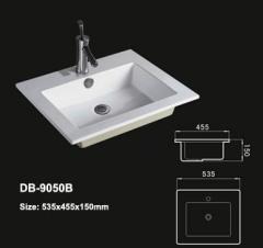 Porcelain Drop In Sink,Ceramic Drop In Sink,Square Drop In Sink,Round Drop In Sink,Drop In Vanity Sink