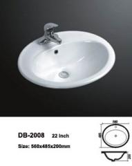 Bathroom Counter Sink,Counter Washbasin,Above Counter Vessel Sink,Above Counter Washbasin,Counter Washbasin