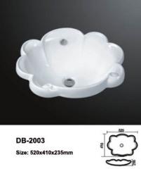 Ceramic Drop In Sink,Bathroom Sink Above,Above Counter Bathroom Sink,Above The Counter Sink,Countertop Lavatory