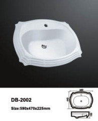 Dropped In Sink,Drop-in Sink,Drop In Vessel Sink,Over The Counter Sink,Above Counter Basin,Above Counter Vessel Sink
