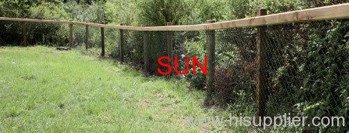 Prairie chain link fence