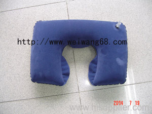 inflatable pillow , flocked pillow , PVC inflatable pillow