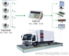 Analogue Truck Scale