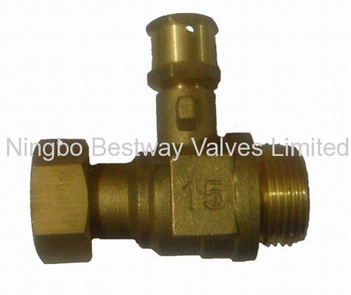 brass locking ball valve