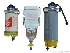 oil-water separator assembly series
