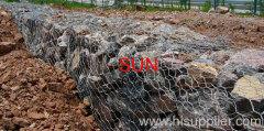 stone wire mesh cage