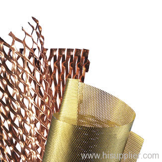 Copper Expanded Metal Meshes