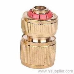 good quality brass hose connector quick-click snap fit