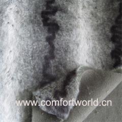 Plush Fake Fur Fabric For Car Seat Cover