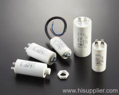 A C motor capacitors
