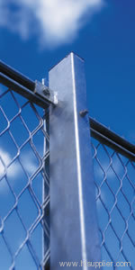 channel expanded metal fences