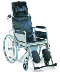 commode reclining wheelchair