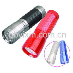 13 LEDs Aluminum Flashlight