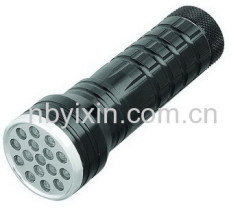 16 LEDs Aluminum Flashlight
