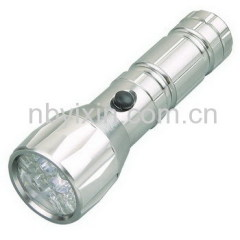 15+3+3 Aluminum Flashlight