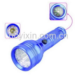 8+1 Aluminum Flashlight