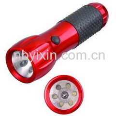 6+1 Aluminum Flashlight