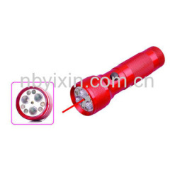 6+3+1 Laser Pointer Flashlight