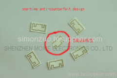 smart Fragile Paper Tag