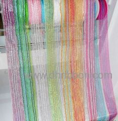 Sheer ribbon with 7lines