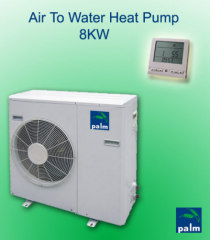 air to water heat pump-cooling and heating