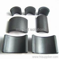 motor hard ferrite segment magnets