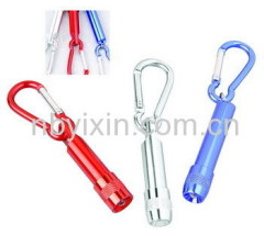 1 LED Aluminum Key Chain Light