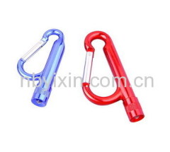 1 LED Aluminum Carabiner Light