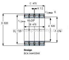 BC4/8041/HA4 bearing