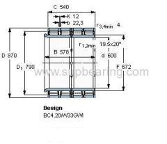 BC4B 322497/HA4 bearing