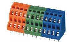 pitch 5.0mm wiring spring terminal