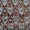 Flocking Organza Curtain Fabric