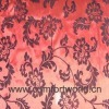Organza Flocking Curtain Fabric