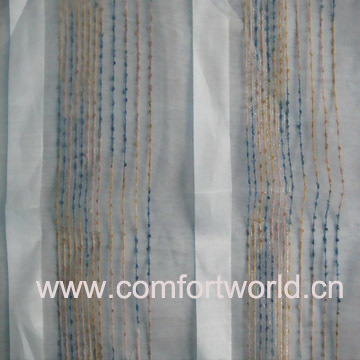 Plain Voile Curtain Fabrics
