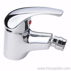 Chrome plated bidet faucet in good chrome