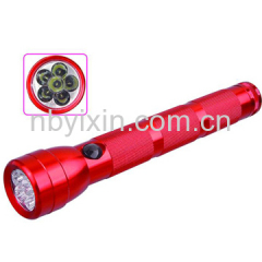 6LEDs Big Aluminum Torch