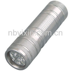 9 LEDs Aluminum Torch