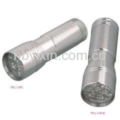 14 LEDs Aluminum Torch