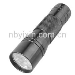 12 LEDs Aluminum Torch