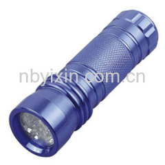 9 LEDs Aluminum Normal Torch