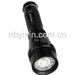 9+1 Aluminum Flashlight