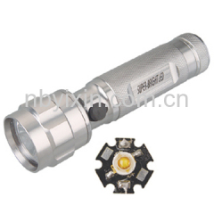 1 Bulb Aluminum Flashlight