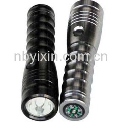 4026A Compass Aluminum Flashlight