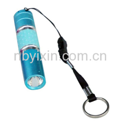 4029 Color Rubber Handle Flashlight