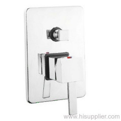 CONCEALED WALL MOUNTED BATH SHOWER MIXER