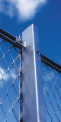 expanded metal mesh fences