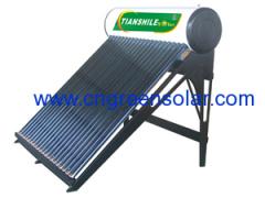non-pressure solar energy heater