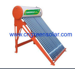 Non-pressurized solar energy water heater