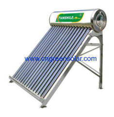 non-pressure integrated solar water heater